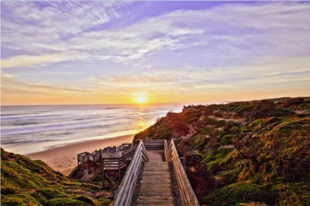 Sunset on Phillip Island by Danielle Fielding
